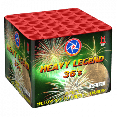 HEAVY LEGEND 36  YELLOW SKY TO GREEN (nc)