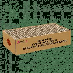 EVENT BOX ELECTRIC FIRE ACCELERATOR 202 SHOTS (MVGV81380)