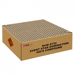 EVENT STAR DOMINATION 400 SHOTS (MVGV87320)